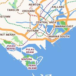HDB | HDB Map Services Designated Marketing Area Map on